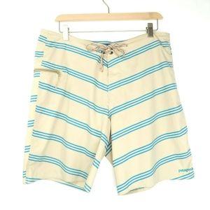 Patagonia Swim Shorts 34 (Actual 36) Stripe Trunks